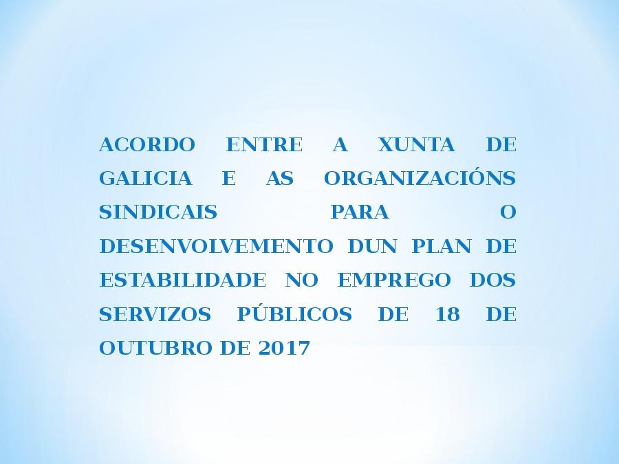 A función pública en Galicia e o desenvolvemento do EBEP